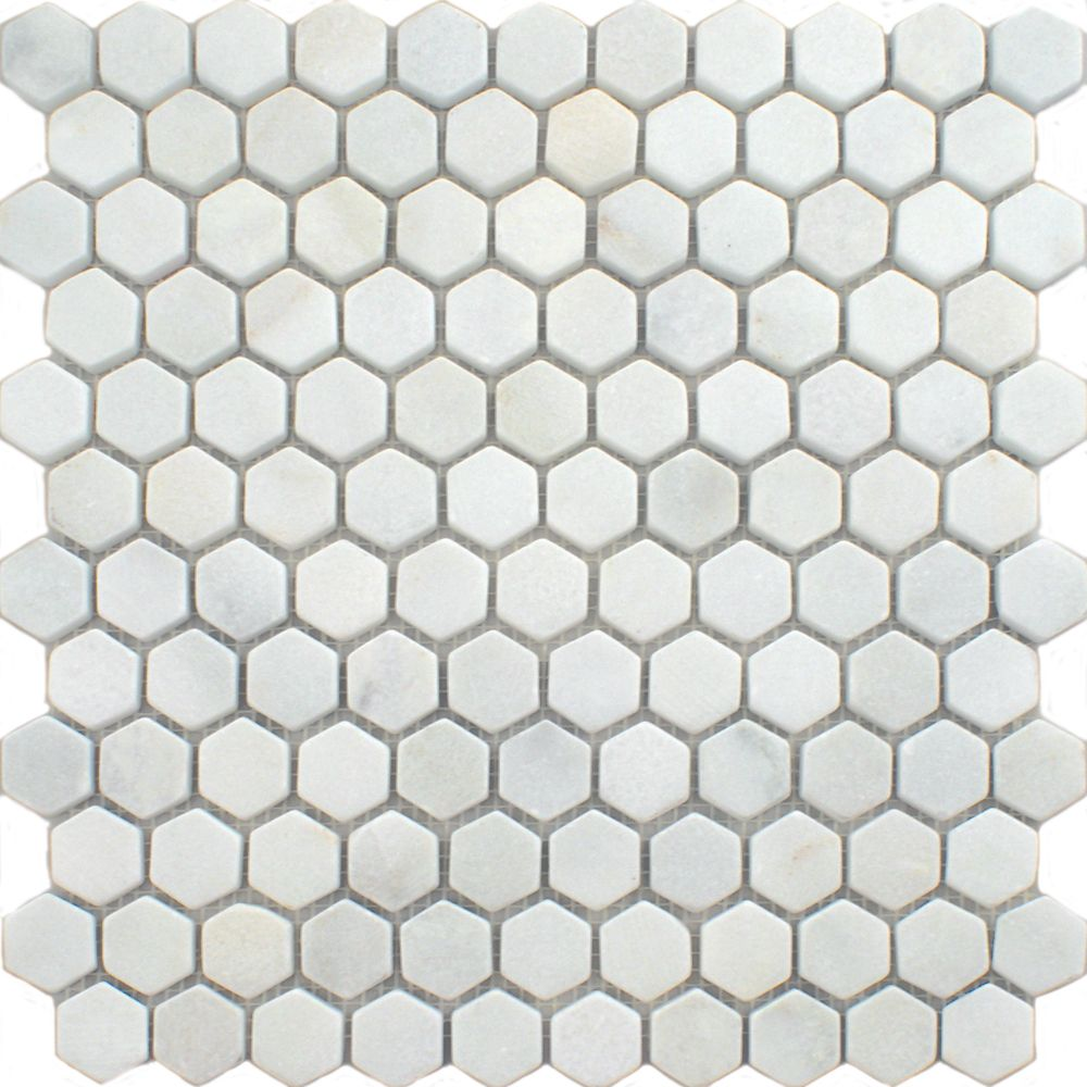 Blanco hexagon tiles oriental marble mosaics mosaic tiles blanco hexagon tiles oriental marble mosaics mosaic tiles 290x285x10mm from walls and floors leading tile dailygadgetfo Image collections