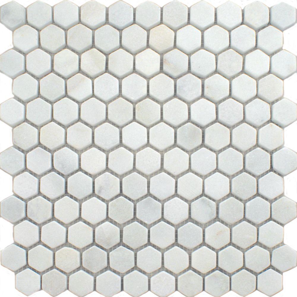 Blanco hexagon tiles oriental marble mosaics mosaic tiles blanco hexagon tiles oriental marble mosaics mosaic tiles 290x285x10mm from walls and floors leading tile dailygadgetfo Image collections