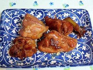 鳥もも肉の醤油漬け焼き+冷凍保存(お弁当にも)