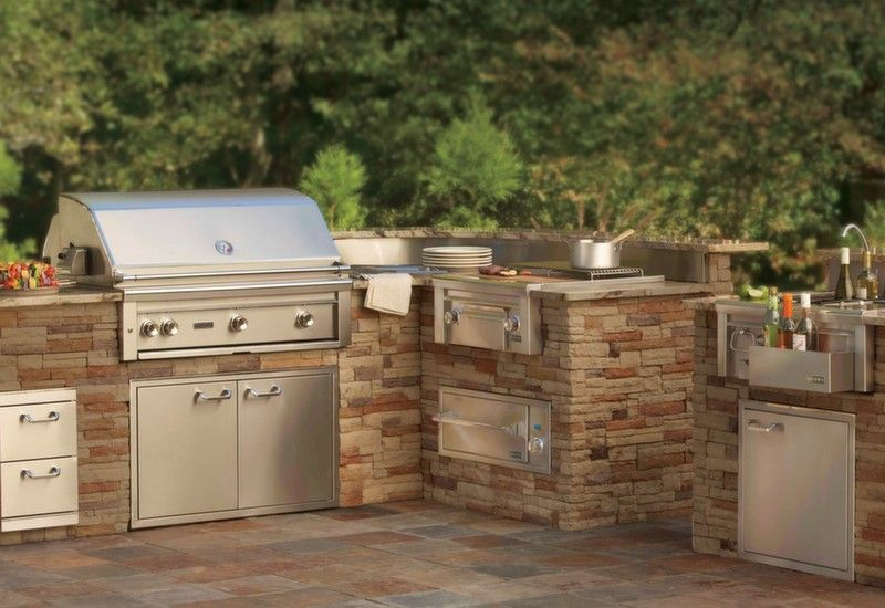 Lynx Grills Adds Asado Grill And Fire Pit To Its Line Up Of Professional Grills Outdoor Kitchen Appliances Outdoor Kitchen Kitchen Pictures