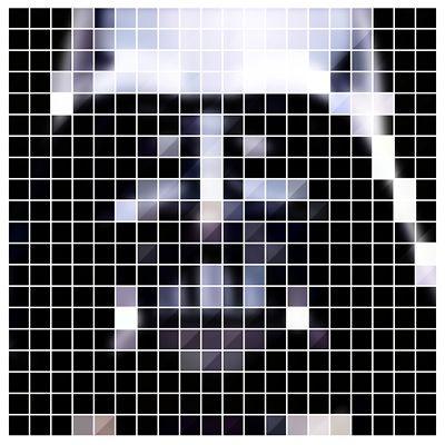 Wkmf Pixel Art Pixelated Dark Side 8 Bit Darth Vader Star Wars
