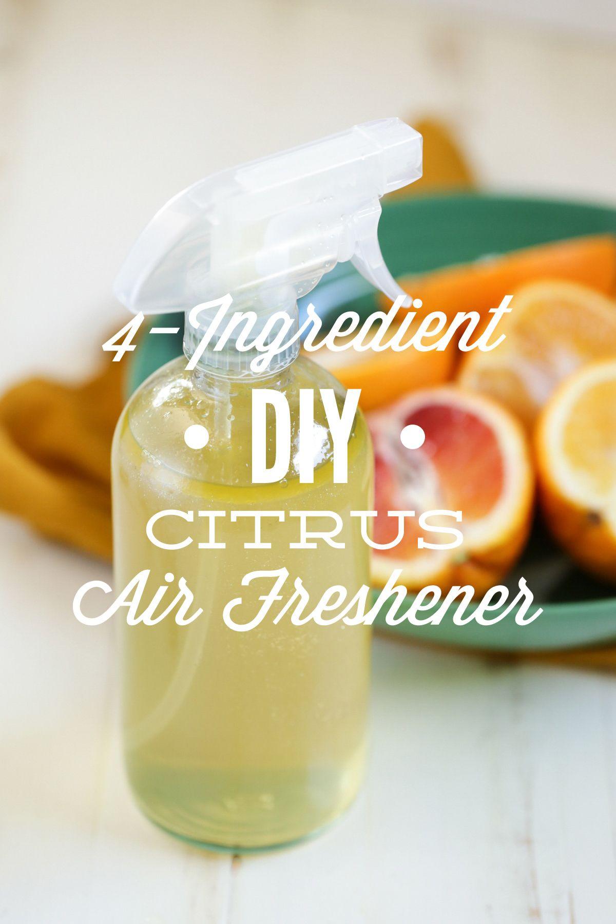 4Ingredient DIY Citrus Air Freshener Live Simply