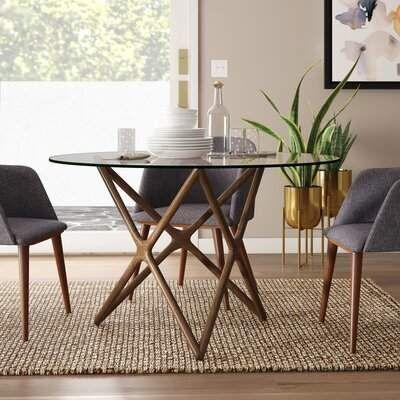 Modern Rustic Interiors Colton Star Dining Table Modern Rustic Interiors Round Dining Table Modern Circular Dining Table Glass Dining Table
