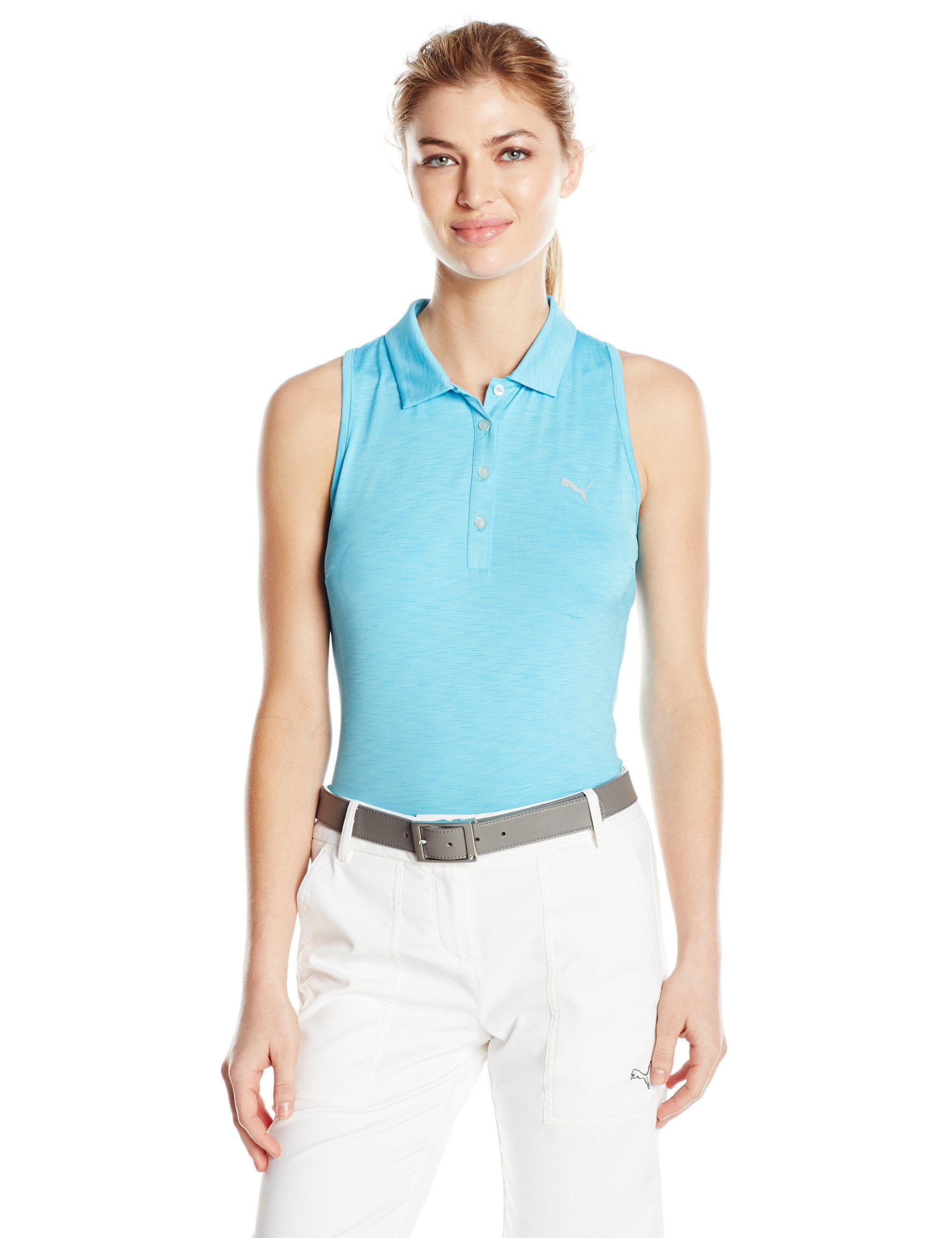 a464fc67f64c Golf Clothing     Puma Golf 2017 Womens Racerback Golf Polo Blast Large      Make sure to take a look at this amazing item. (This is an affiliate link).