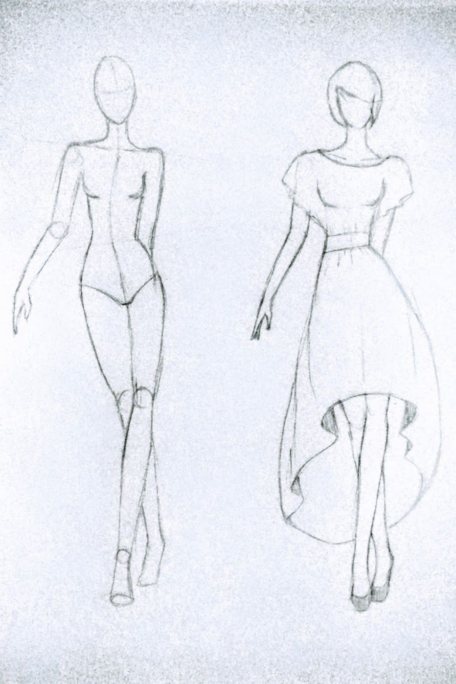 Photo of High-Low Circle Skirt Dress Sewing Project