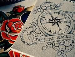 Girly Compass Tattoo - Bing Images