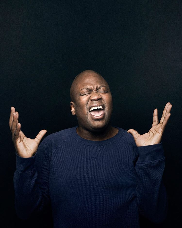 TITUSS BURGESS // costar in the little mermaid Tituss