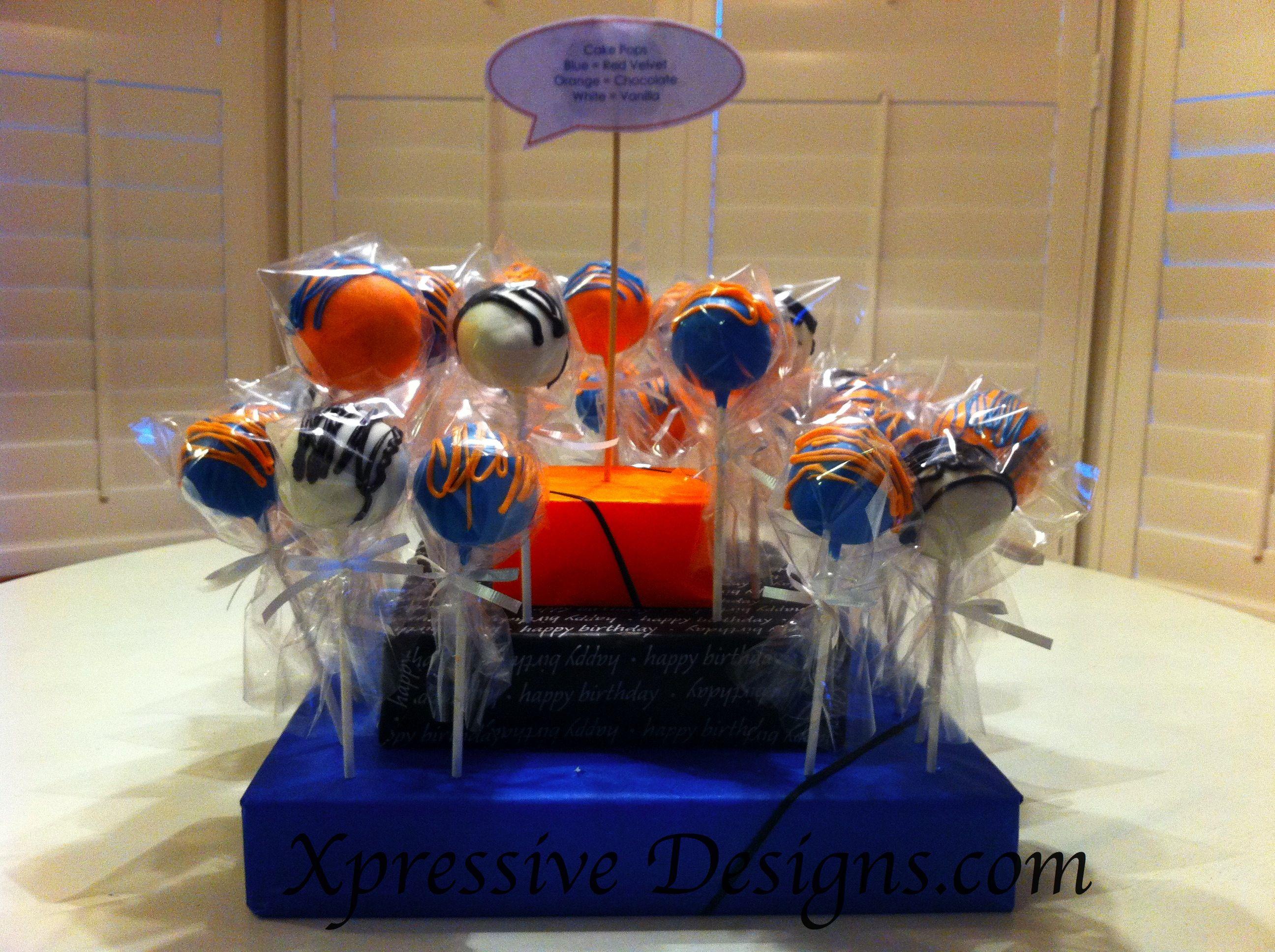 Cake pop Bouquet for a 21st Birthday #cakepopbouquet