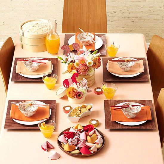 Chinese Recipes, Place Setting