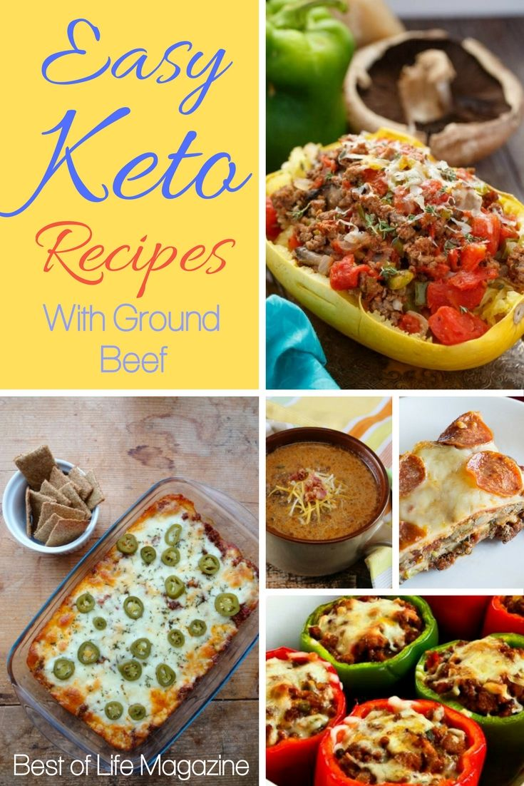Ground Beef Is A Popular Meat Used Most Commonly In Homes All Across The Us So You Ll Need Some Ea Ground Beef Keto Recipes Keto Recipes Easy Diet Recipes Easy