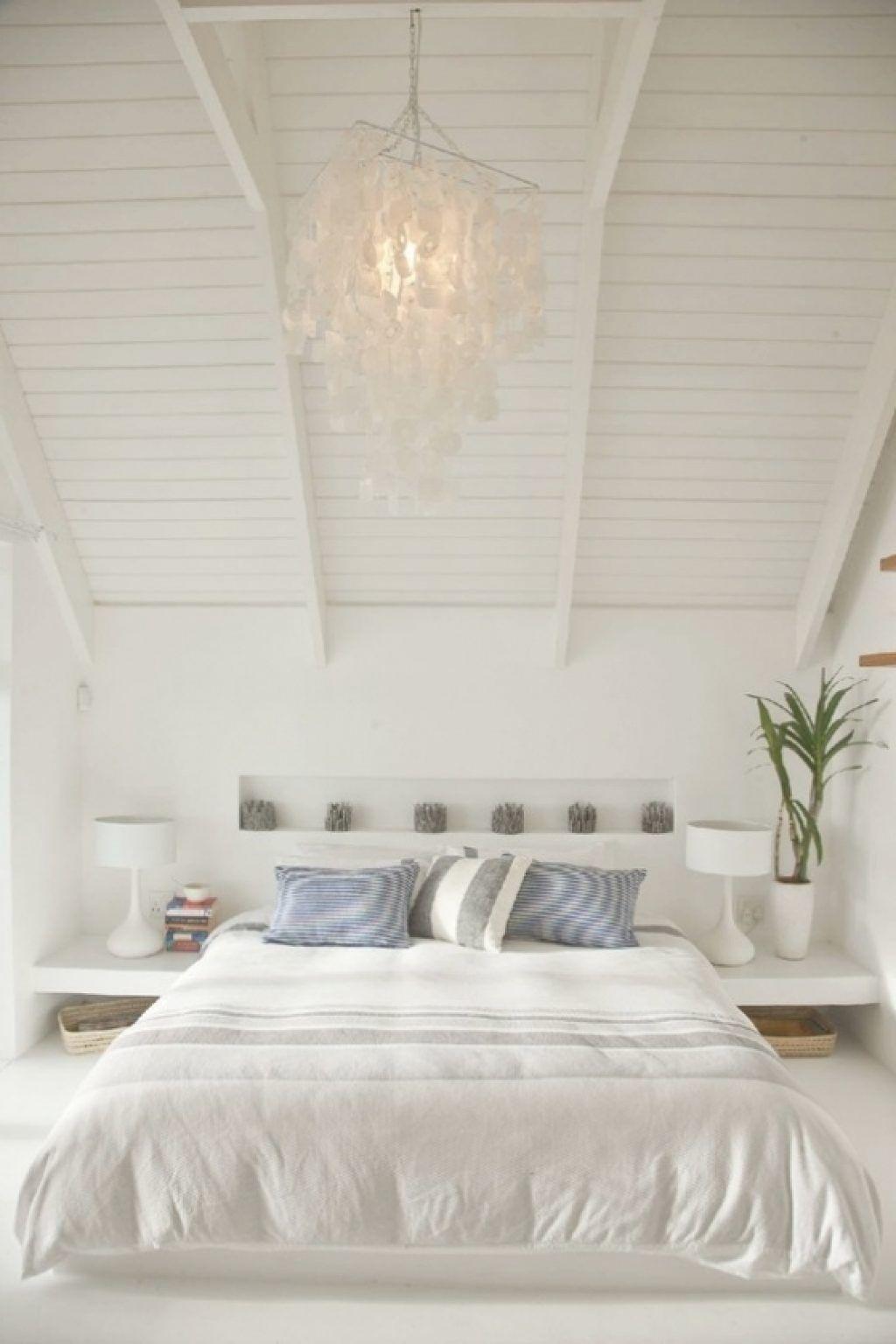 Slaapkamer Beach Look Met Behang Slaapkamer Decoratie | Slaapkamer ...