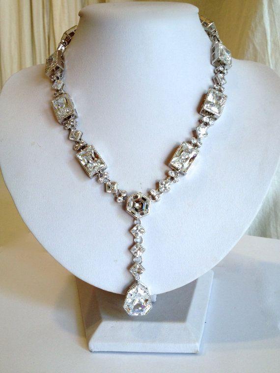 Vintage Diamond Estate Jewelry Necklace