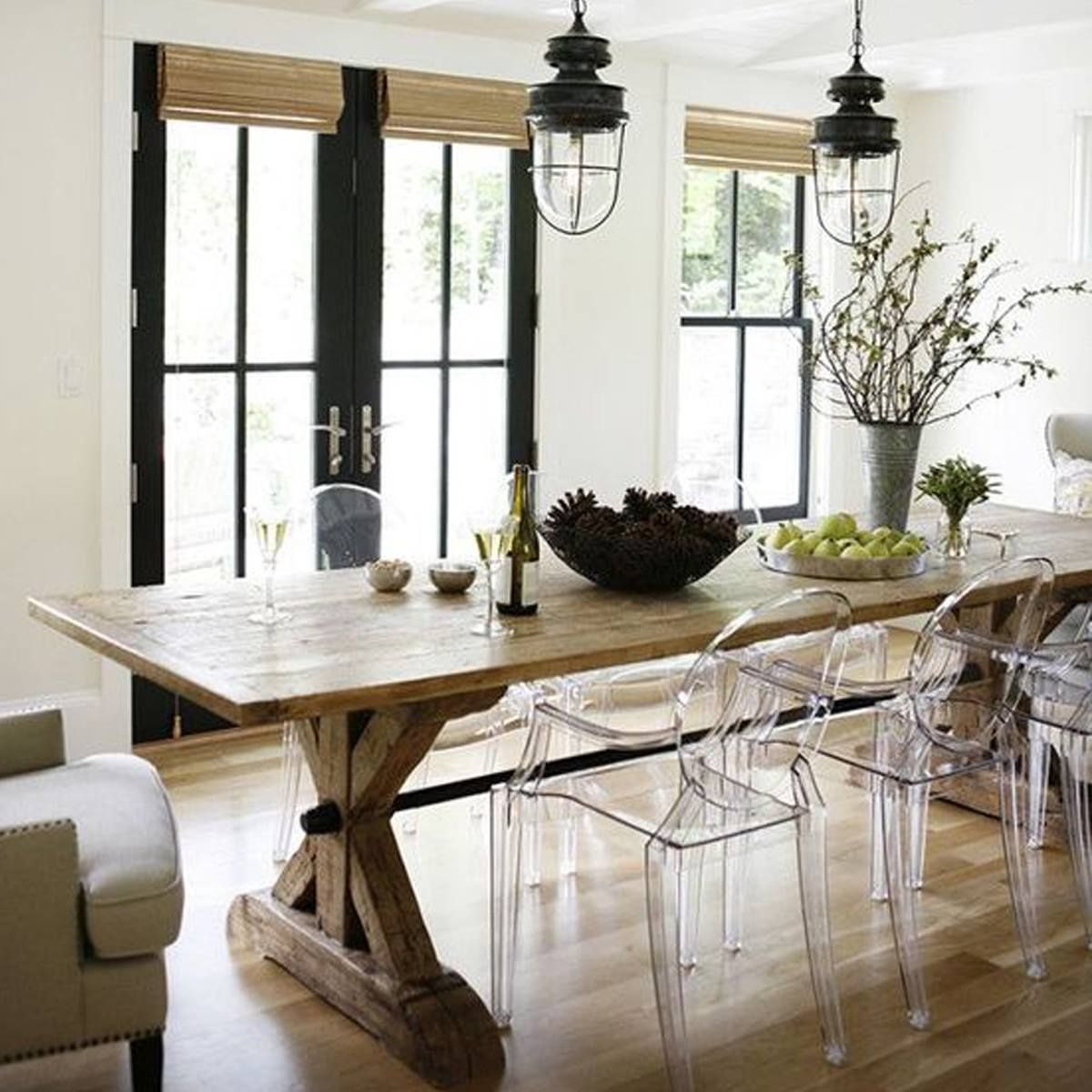 We love the mix of classic and contemporary styles used in