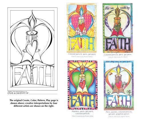 FAITH_variation   ** Bible Journaling - All **   Pinterest