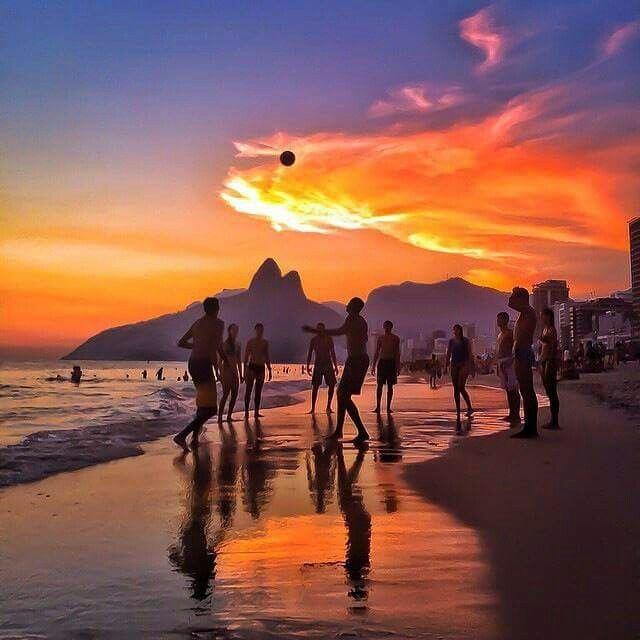 Rio de Janeiro. Sunset