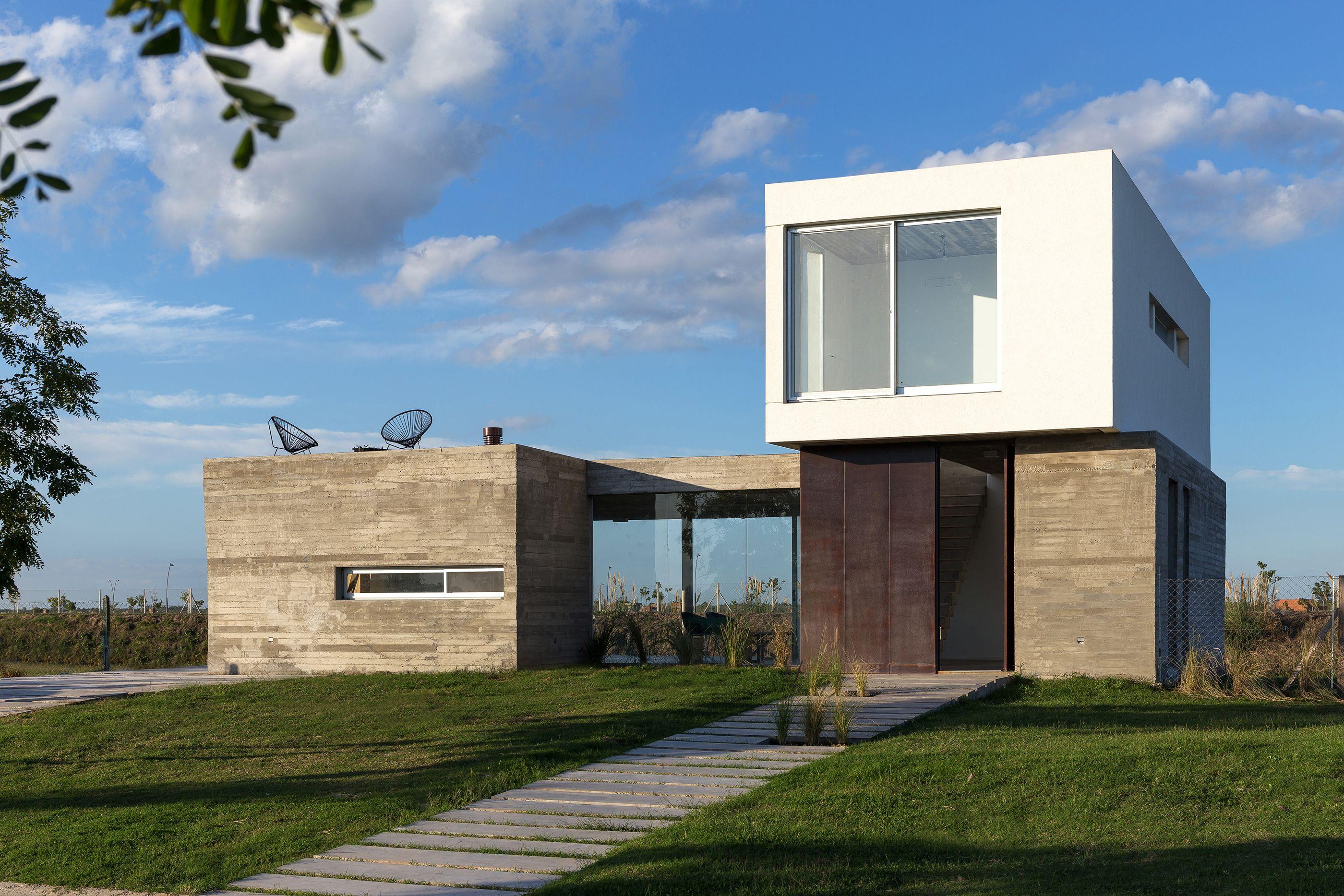 Modern Weekend House In Bus, Czech Republic | Modern Geek | Pinterest | Weekend  House, Czech Republic Andu2026