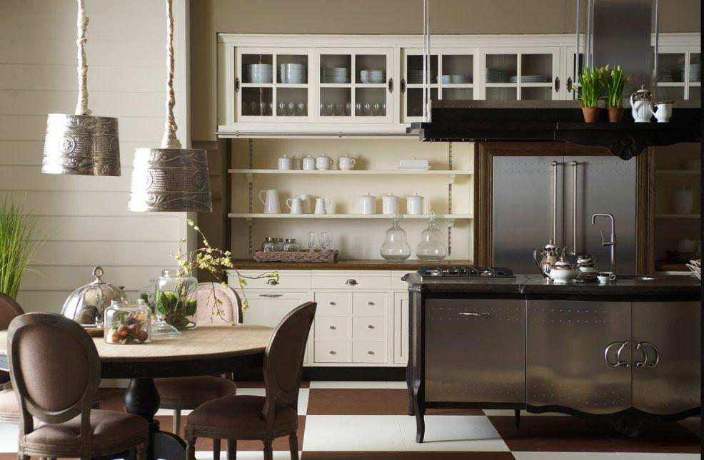 cocina clásica cocinas Pinterest Cocinas clasicas, Cocinas y