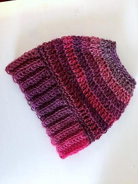 The Best Free Crochet Ponytail Hat Patterns Aka Messy Bun Beanies Custom Bun Beanie Pattern