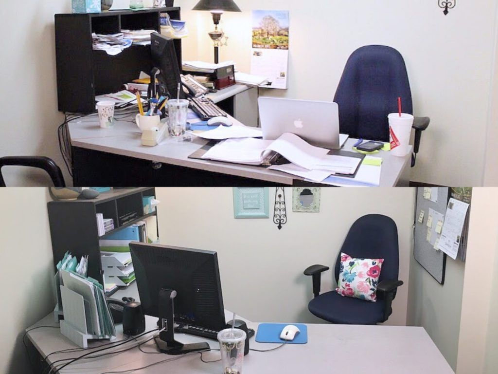 organizing your office. Desk Before And After Organizing Your Office - For Ease Of Access, It\u0027s Useful To Separate Past Current Paper. In-process Projects Should Live \u201c O