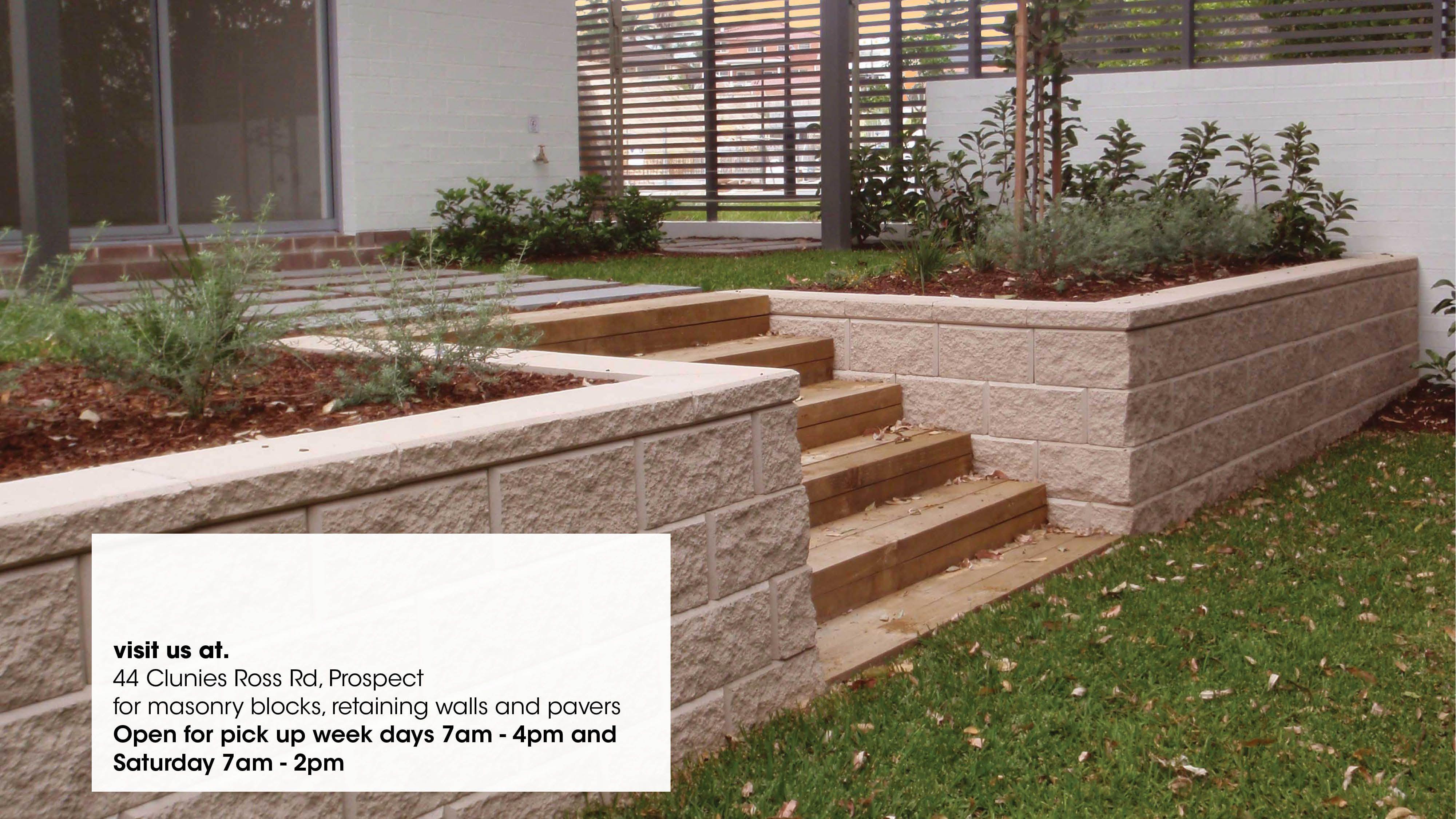 Pavers Concrete Blocks Retaining Wall Blocks New South Wales Retaining Wall Concrete Block Retaining Wall Retaining Wall Blocks
