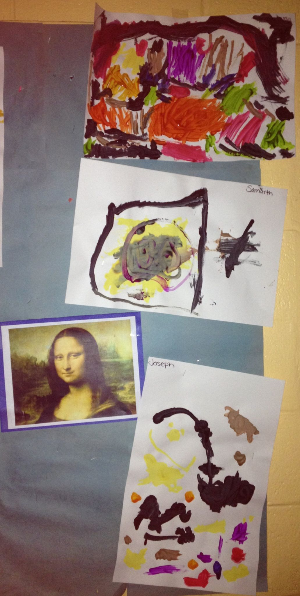 I Gave My Pre School Class Famous Works Of Art To Recreate