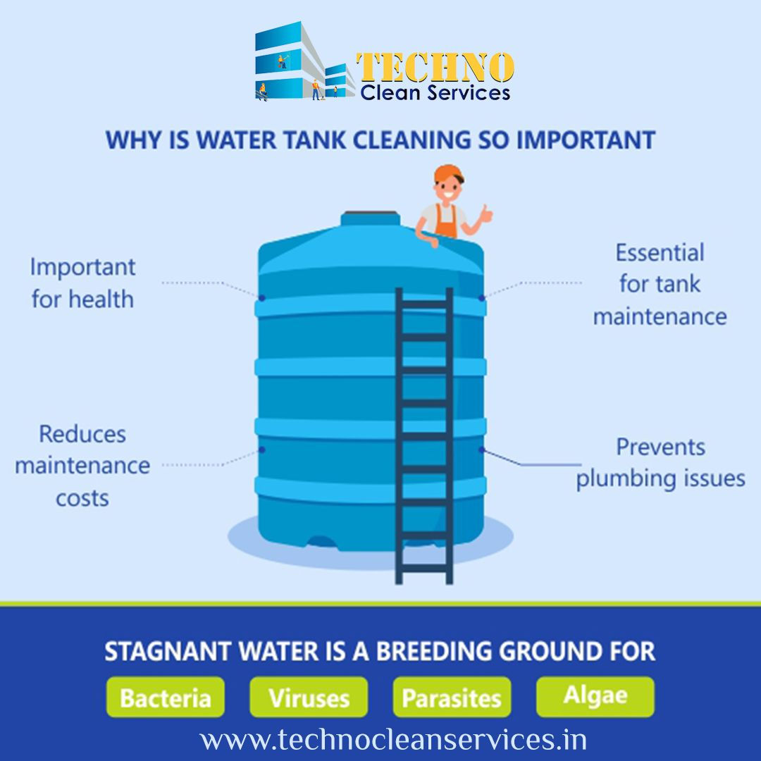 At Techno Clean Services We Have Trained Staff Who Will Visit Your Place To Clean Your Tanks And The Service Given By Is Quick And In 2020 Cleaning Techno Water Tank
