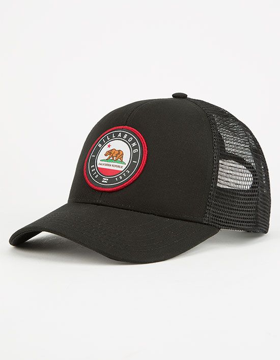 1123b88bde6ea BILLABONG Native Rotor Mens Trucker Hat