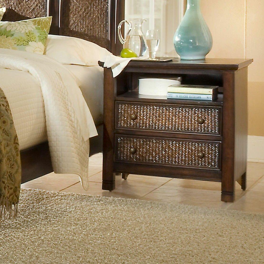 Progressive Furniture Inc. Kingston Isle 2 Drawer Nightstand