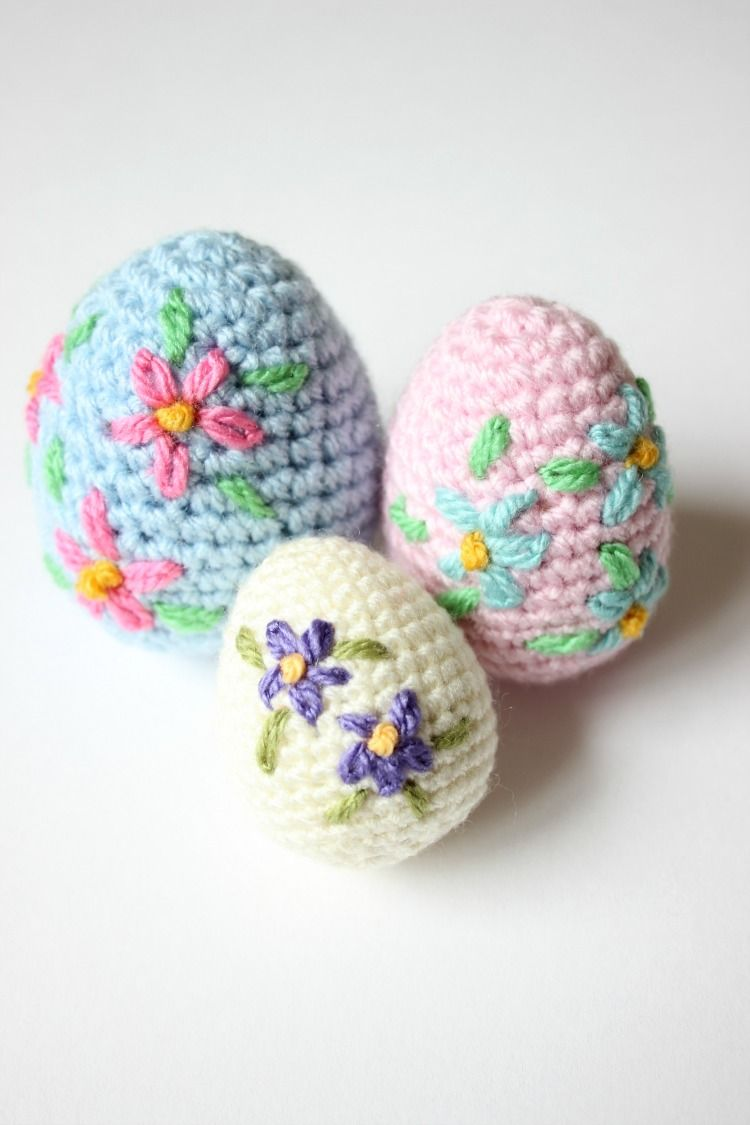 Crochet Yourself an Amigurumi Easter Egg. Video Tutorial & Pattern