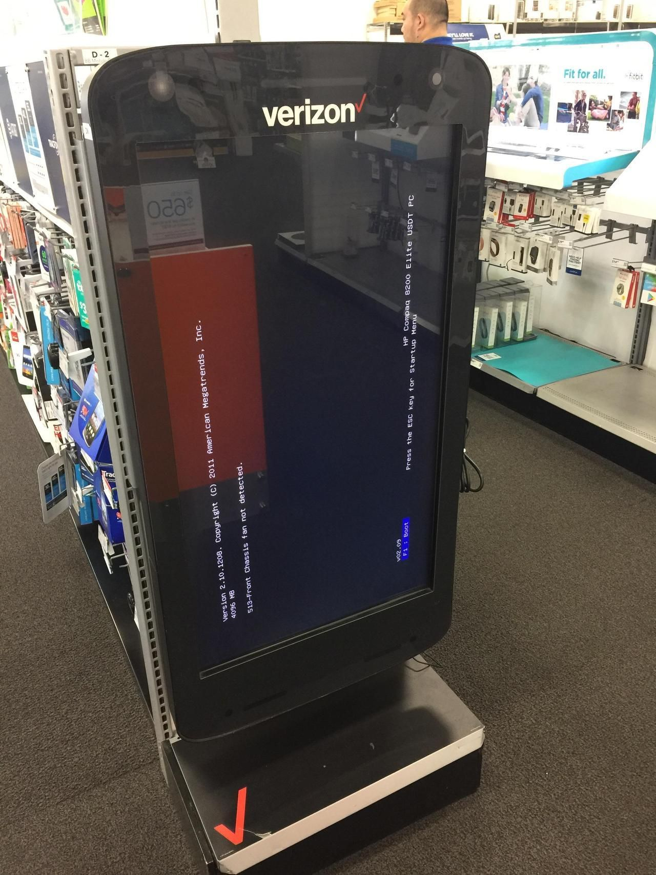 Found at a Best Buy in Chicago #bsod #pbsod | Not sure of