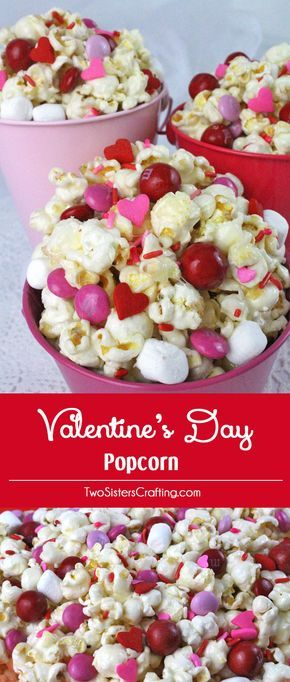 valentines day popcorn - Valentines Party Ideas For Adults