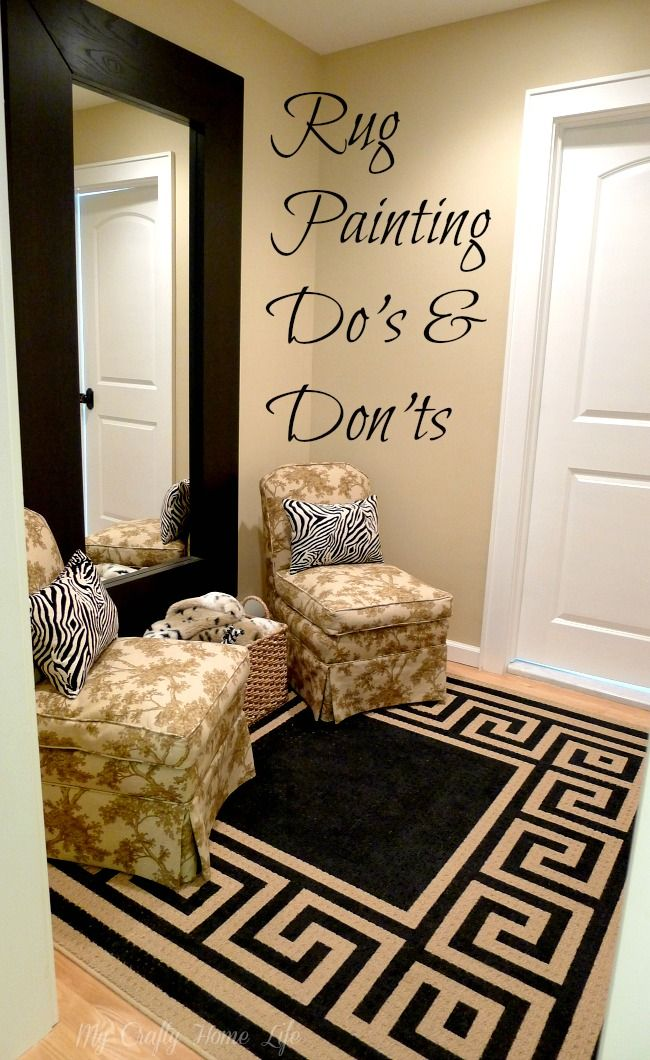Paint A Rug Partythe Finale In 48 For The Home Pinterest Cool Living Room Carpets Rugs Painting