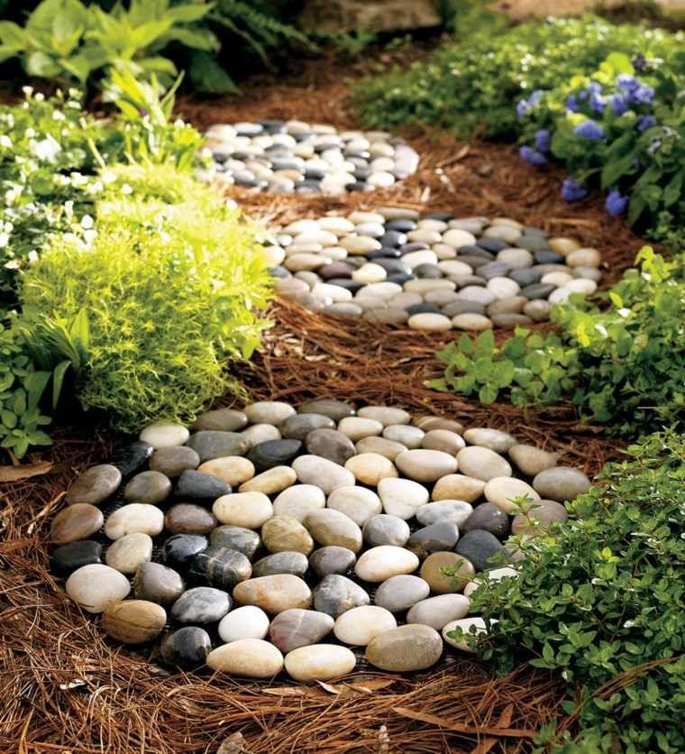 Modèle de jardin avec galets en 26 exemples inspirants