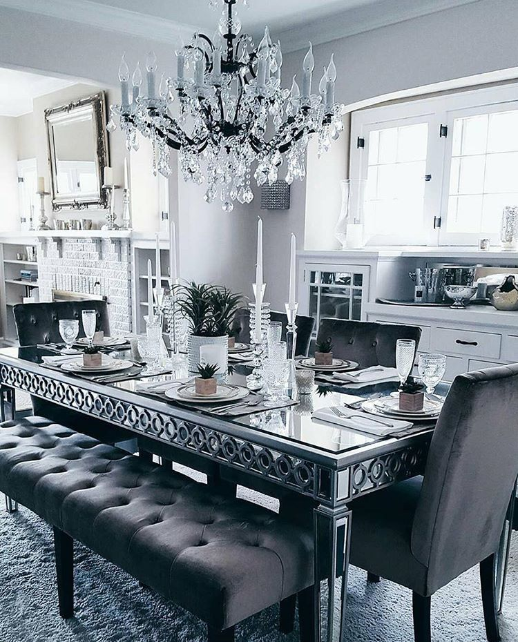 Beautiful Chandelier! Dining Room TablesDinner ...