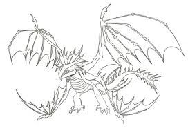 How To Train Your Dragon 2 Cloudjumper Drawing