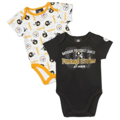 Steelers Baby Clothes Unique Amazon  Nfl Pittsburgh Steelers Infant Clothing Set 4Piece 2 Design Decoration