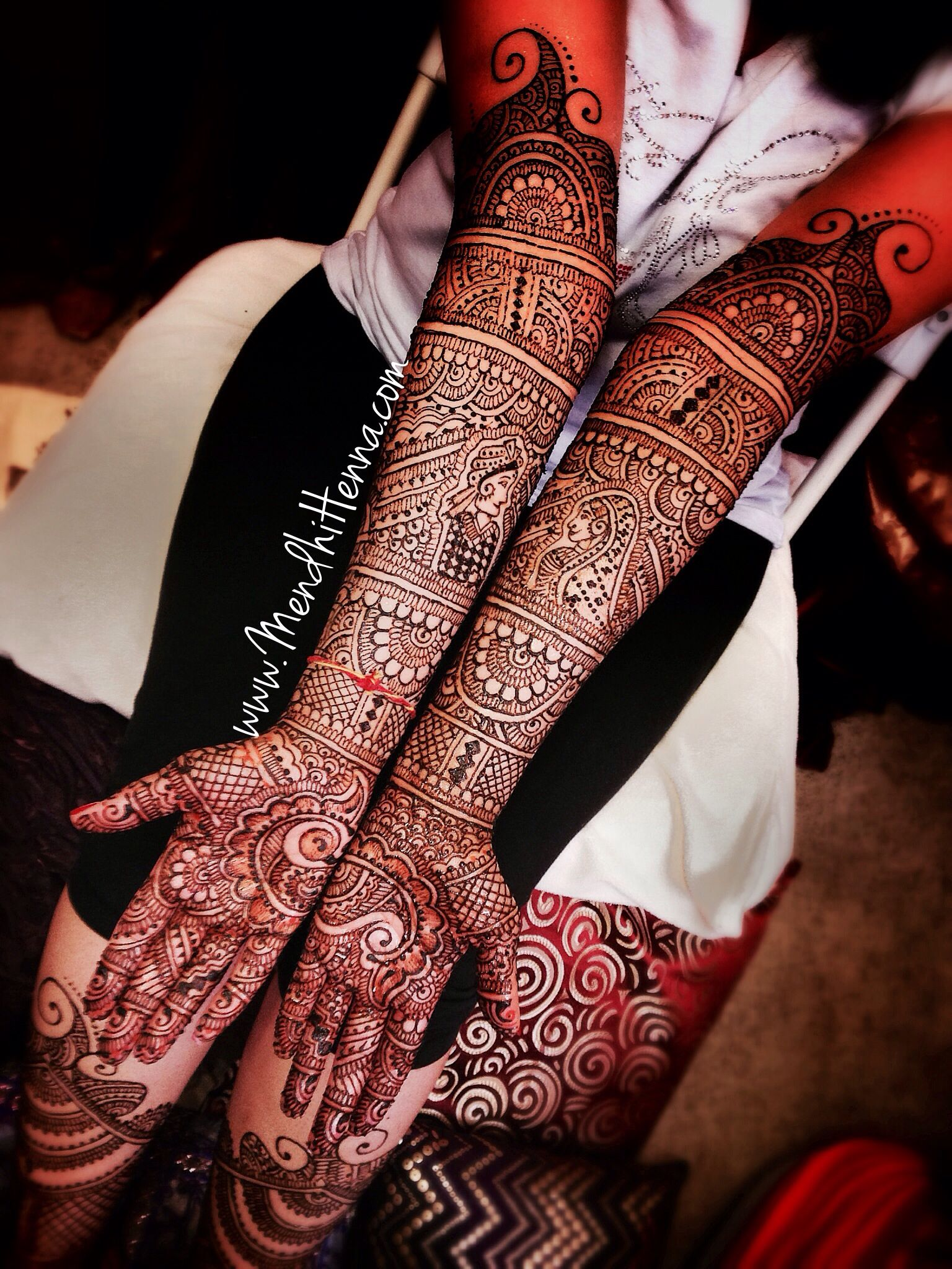 136 Best Images About Henna Inspiration Arms On Pinterest: Bridal Mehendi - So Intricate And Beautiful
