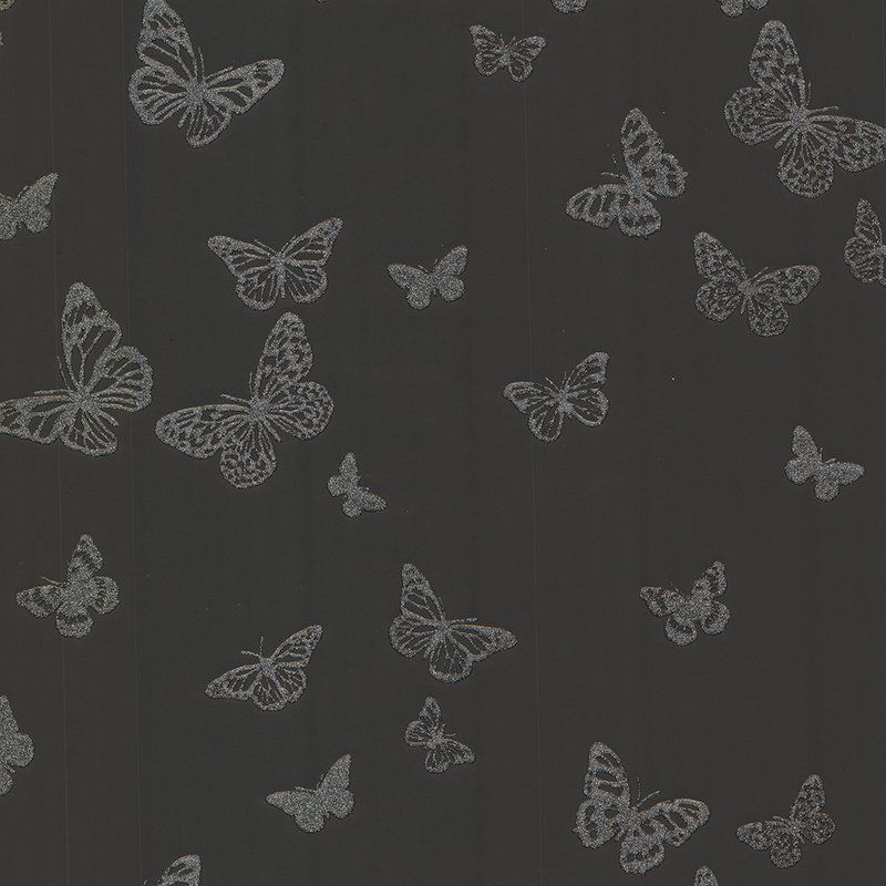 Pearl Butterfly Wallpaper Used On The Ceiling In A Room On Brother V Brother Butterfly Wallpaper Silver Butterfly Wallpaper Pearl Wallpaper