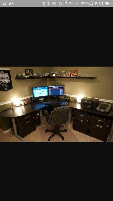Corner desk ideas