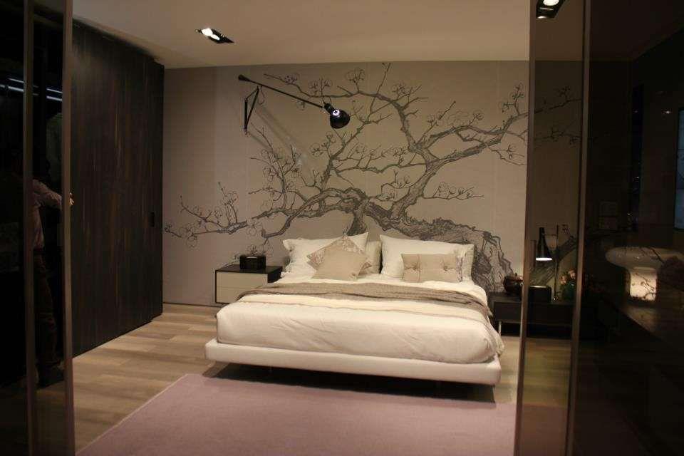 Risultati immagini per albero parete dietro letto | mari | Pinterest ...