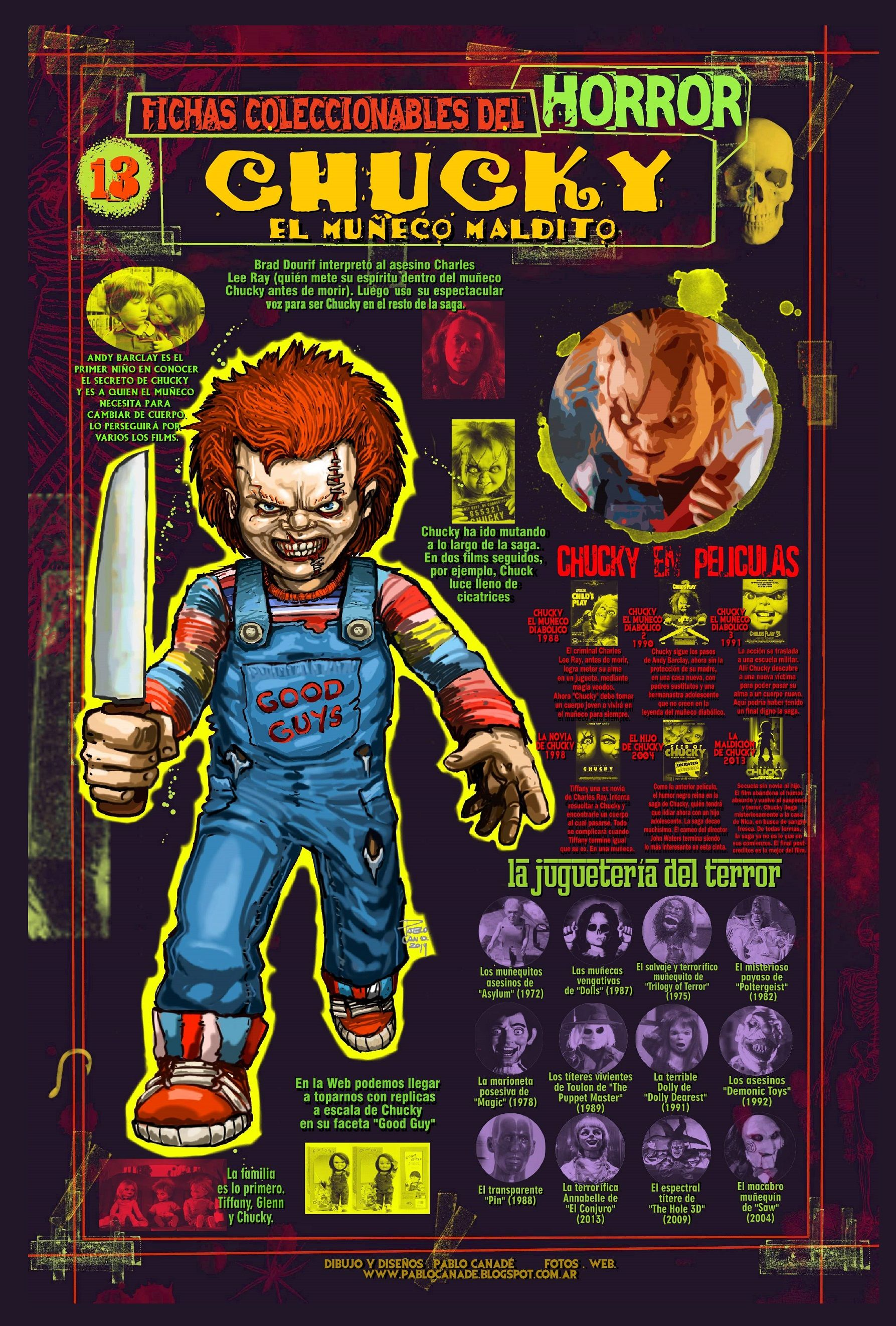 Jack Boneco Assassino Ele chuck, o boneco assassino | monstros e criaturas místicas