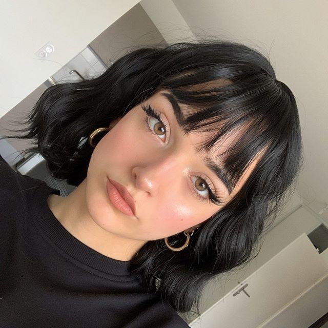 Instagram Yunii X Short Hair Styles Short Hair With Bangs Hair Styles