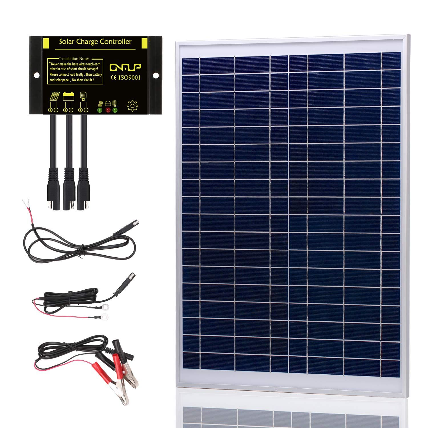 Suner Power Upgraded 20 Watts 12v Off Grid Solar Panel Kit Waterproof 20w Solar Panel Photocell 10a S Solar Panel Kits Solar Panels Off Grid Solar Panels