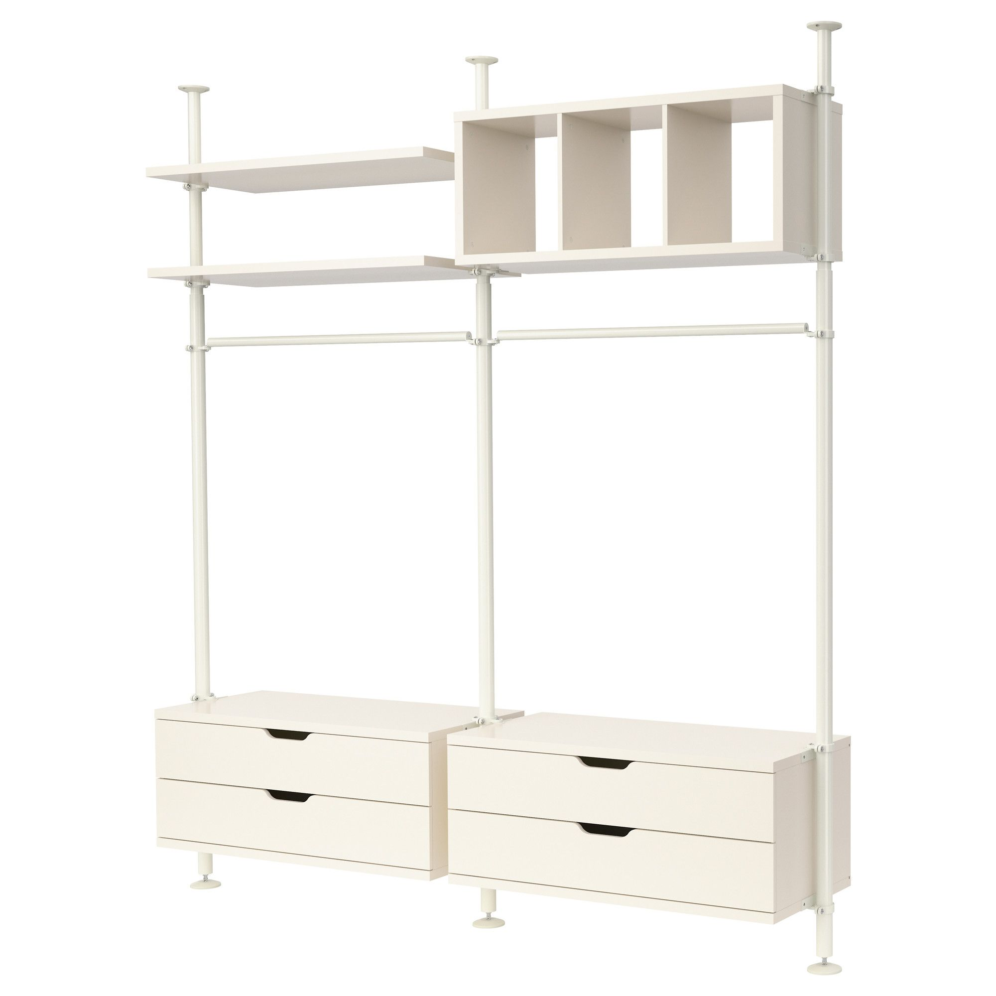 Ikea Schlafzimmer System Stolmen 2 Sections Ikea Studio Inspiration