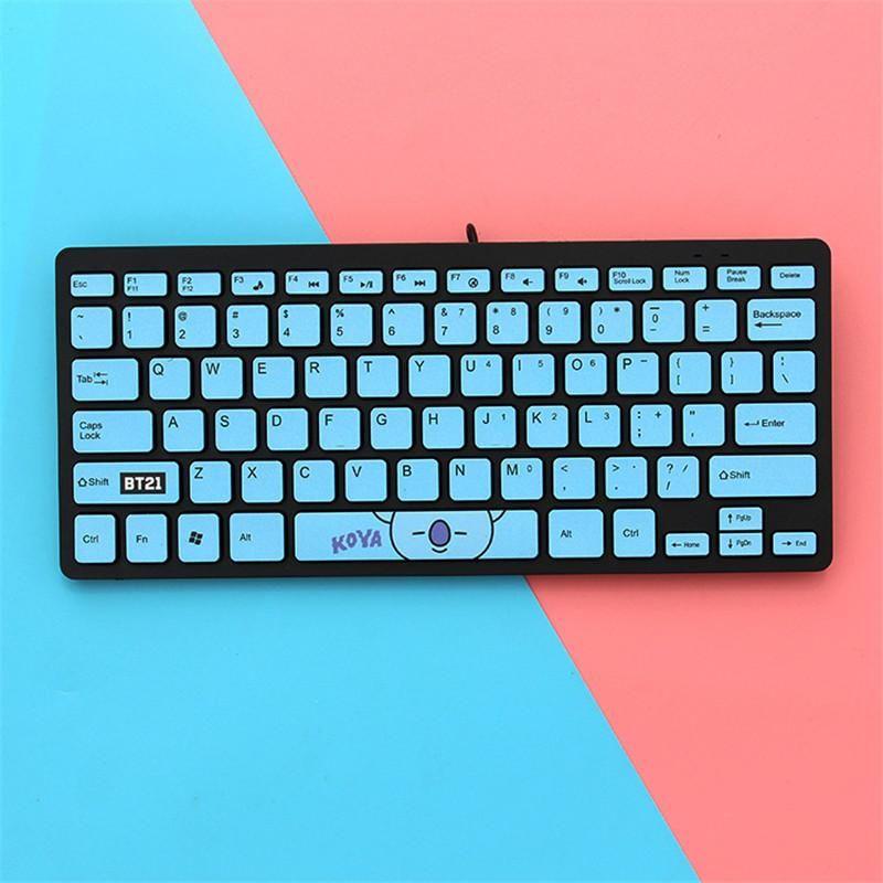 Bt21 Mini Usb Keyboard For Laptop Pc