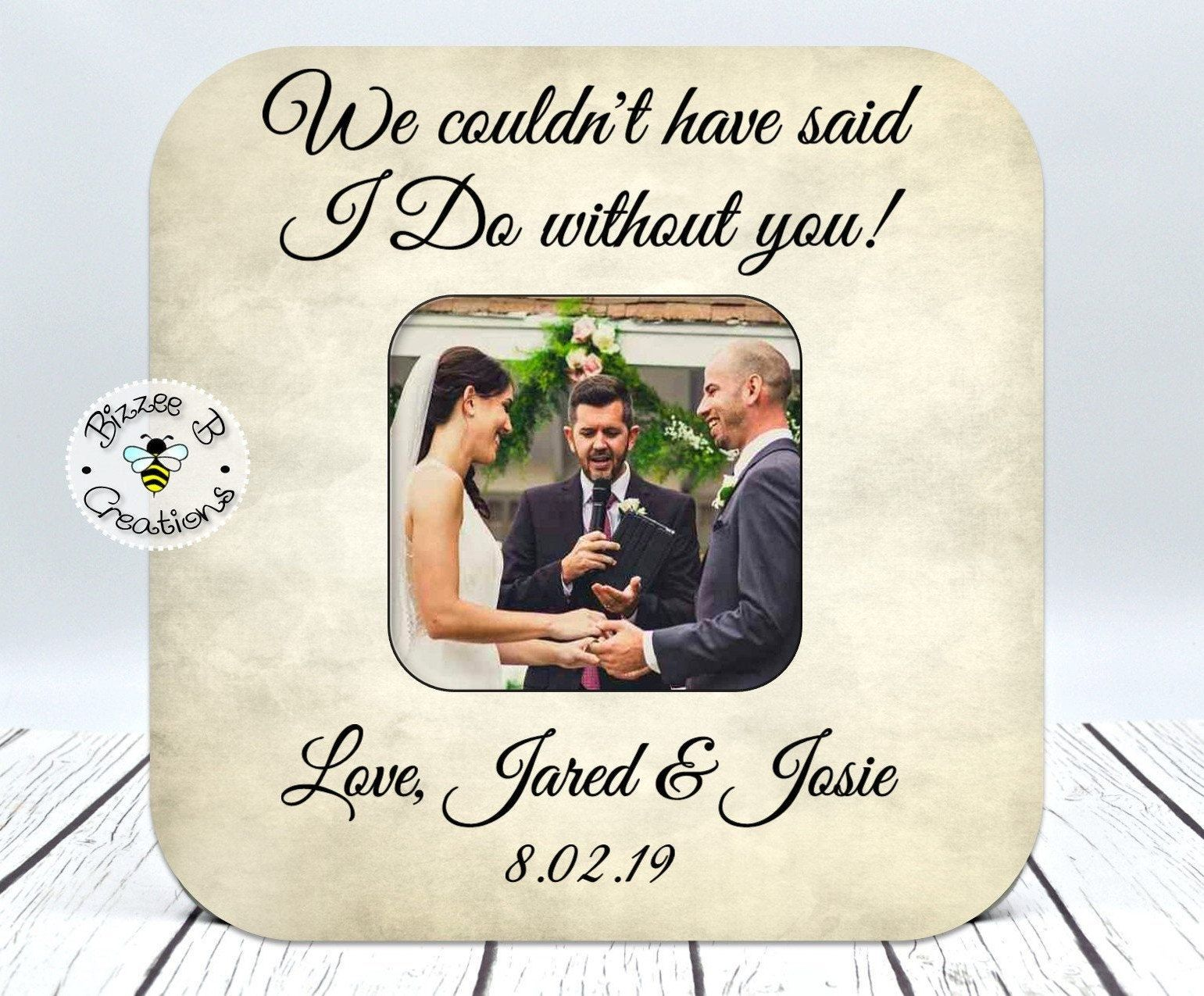 Wedding Party Gift, Gift for Wedding Officiant, Gift for