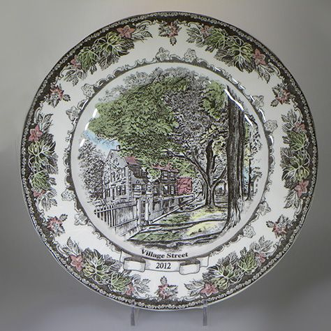 Johnson Brothers Friendly Village Collector's Plate 2012