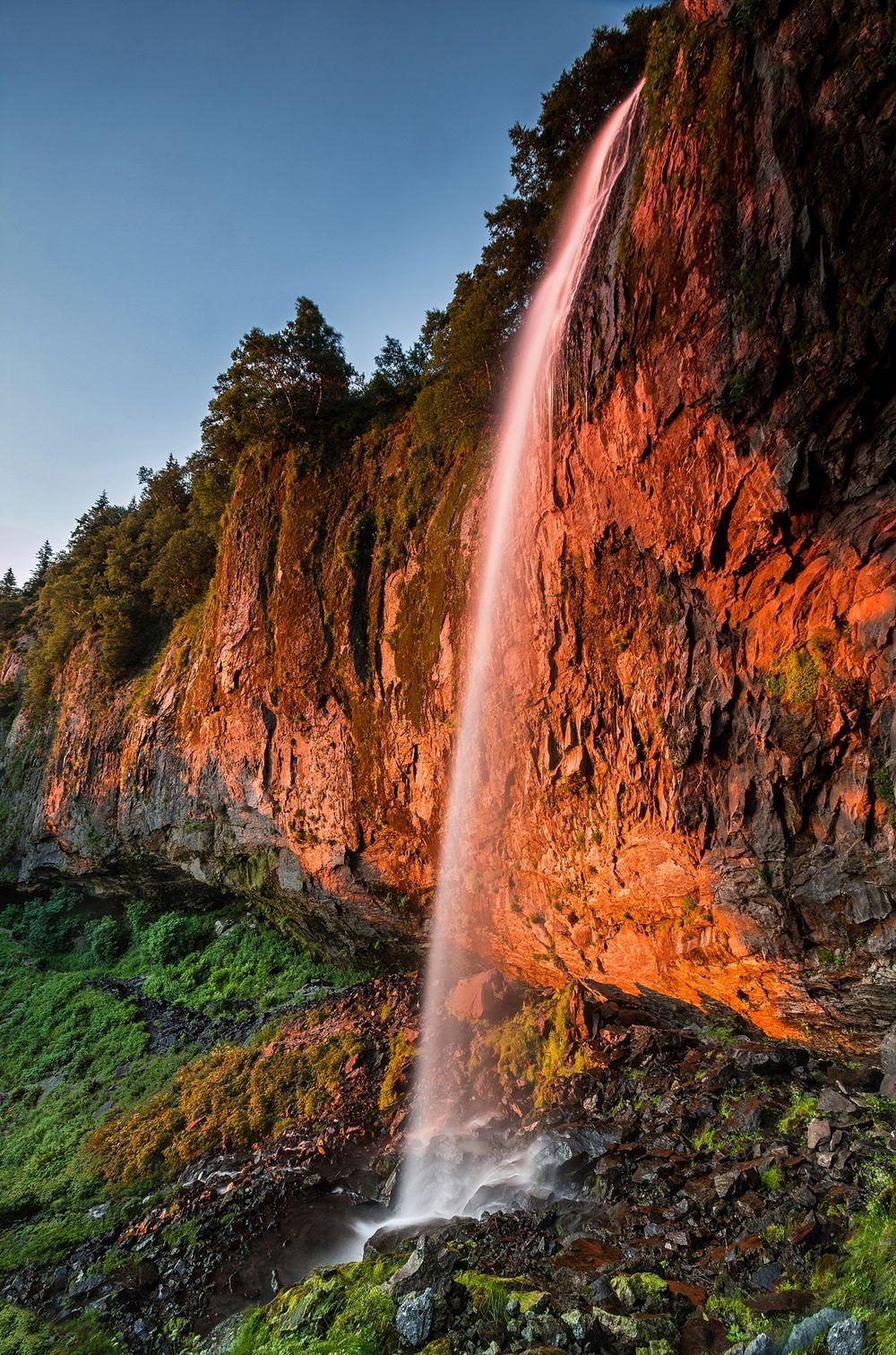 Grande cascade du mont dore le mont dore auvergne puy de d me france auvergne que j 39 aime - Le mont dore office du tourisme ...