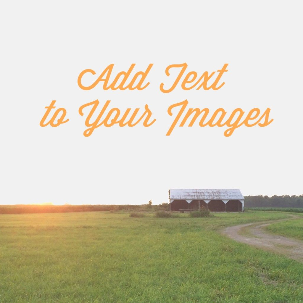 Instagram apps for adding text overlays to your images