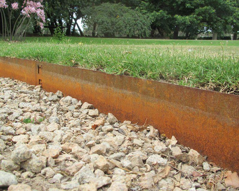 Classic – Cor Ten Steel Steel Garden Edging Garden 400 x 300